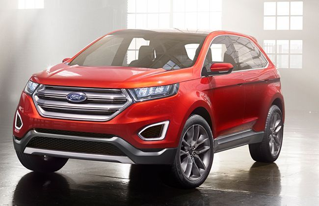 Ford Edge Concept revealed, production SUV to come in 2017