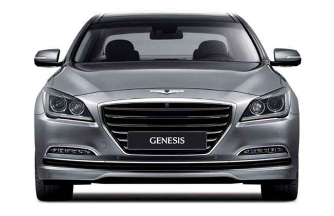 All new 2014 Hyundai Genesis revealed in Korea, bagged 3,500 bookings in a day
