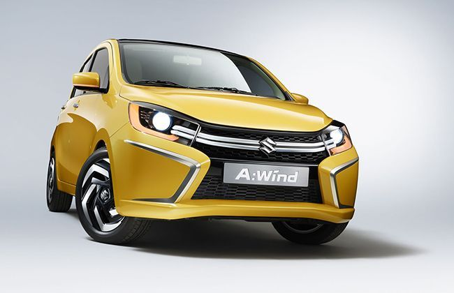 New Suzuki A-Wind Concept unveiled, replacement for A-Star