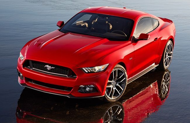New 2015 Ford Mustang unveiled