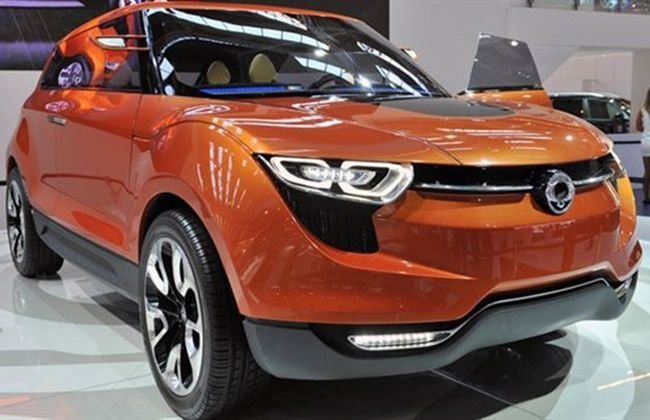 Mahindra and Ssangyong combinedly developing a crossover for India