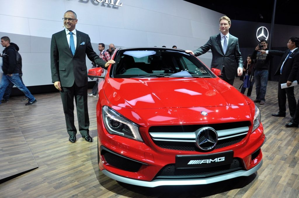 Mercedes-Benz GLA Crossover makes it Indian Debut