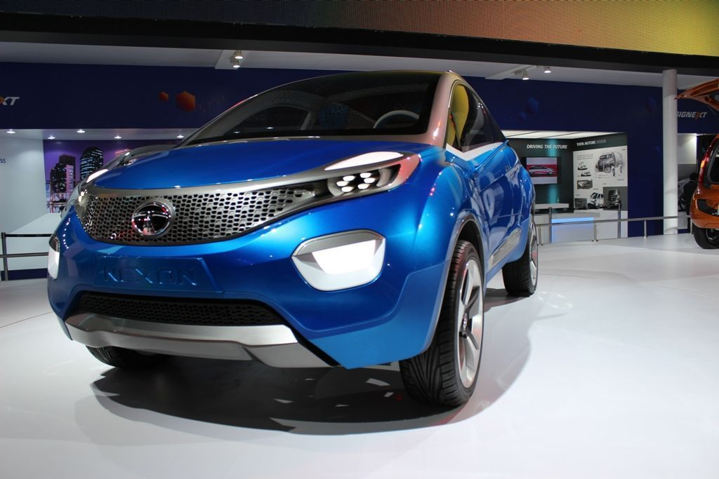 Tata Nexon compact SUV Concept makes its Indian debut- Pictures inside