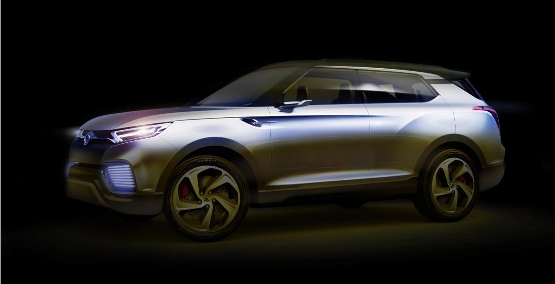 SsangYong XLV concept to debut at Geneva Motor Show