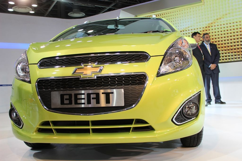 Chevrolet Beat facelift- Photo gallery