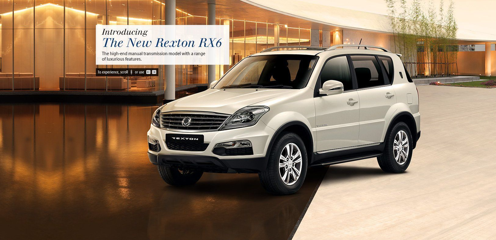 Mahindra launches SsangYong Rexton RX6 variant at Rs.19.96 lakhs