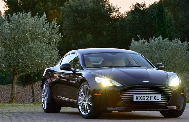 Aston Martin updates its Vanquish & Rapide S for 2015
