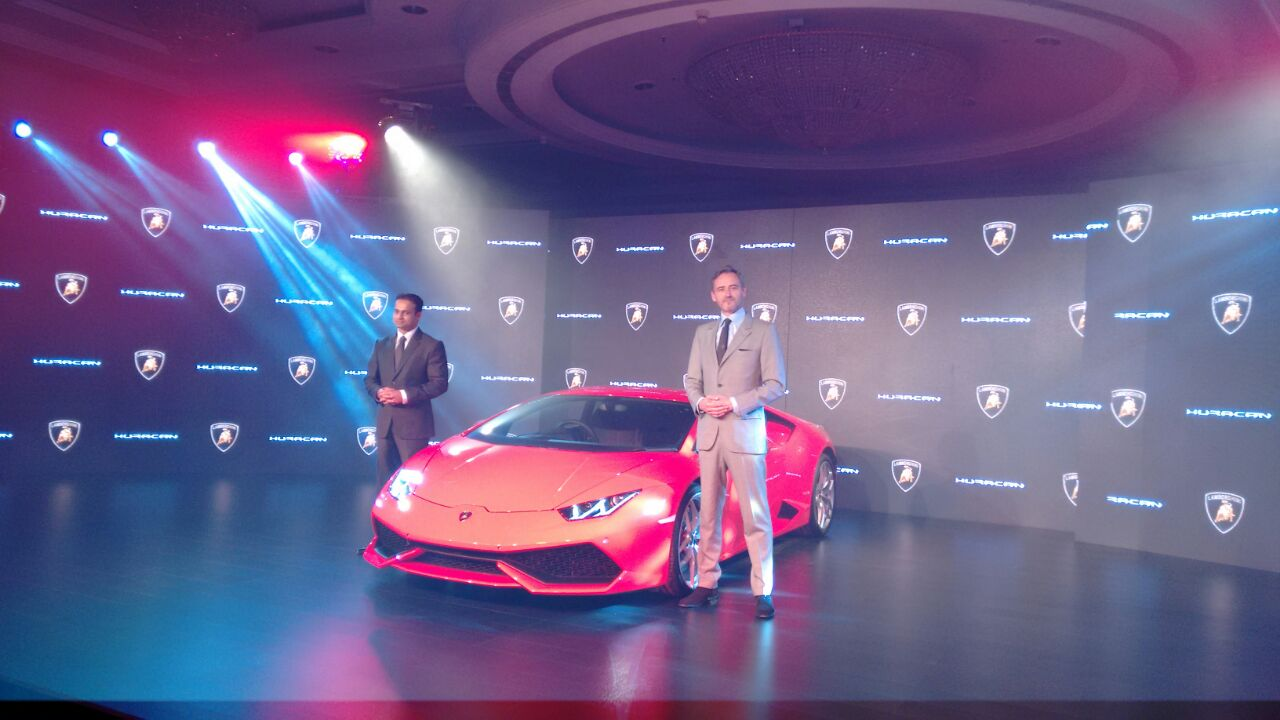 Lamborghini Huracan LP 610-4 launched in India at INR 3.43 Crore