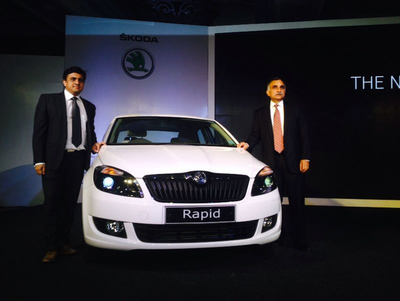 Skoda launches new Rapid at INR 7.22 Lakhs