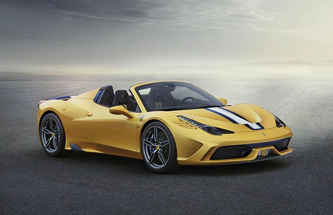 Ferrari 458 Speciale A to debut at the Paris Motor Show