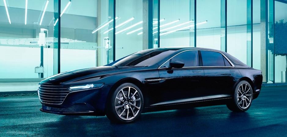 Aston Martin Lagonda officially unveiled