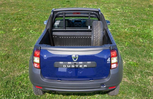 Dacia reveals limited production Duster Pickup!