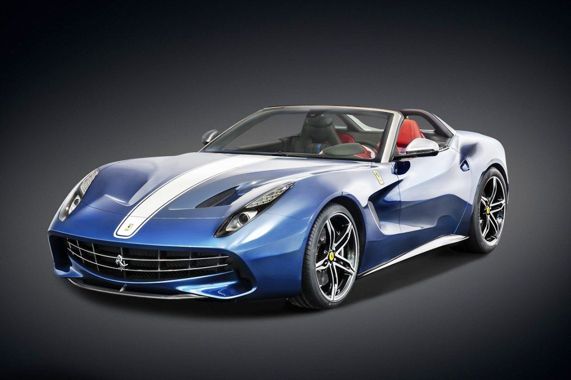 Ferrari F60 America is Ferrari's way to celebrate its 60th year in North America