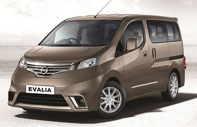 Nissan Introduces Special Variant of Evalia