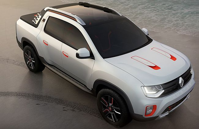 Renault Showcases Duster Oroch Concept @ 2014 Sao Paulo Motor Show
