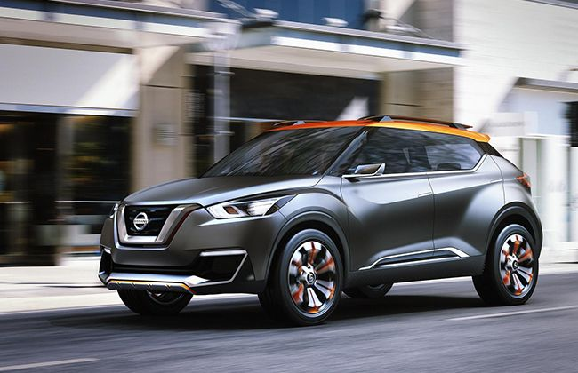 Nissan reveals Kick compact SUV concept for 2014 Sao Paulo Motor Show