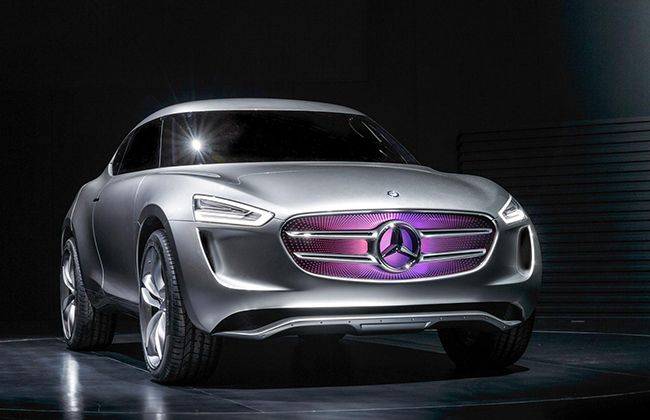 Mercedes Benz Reveals Futuristic Electric-Hydrogen Powered G-Code SUC
