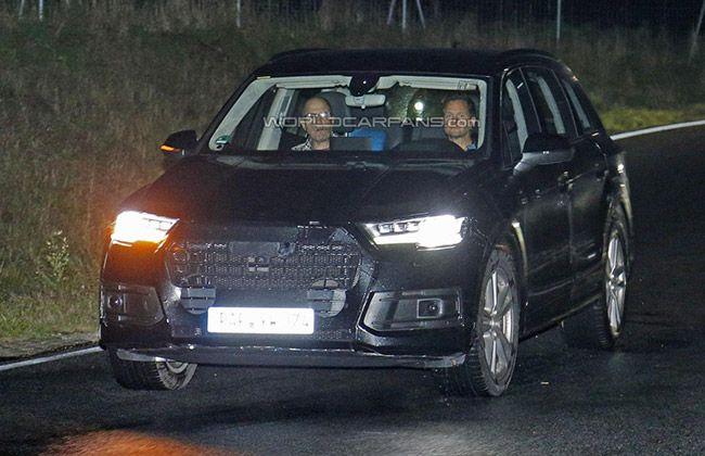 India Bound Next-Gen Audi Q7 Spied Flaunting Matrix LEDs!