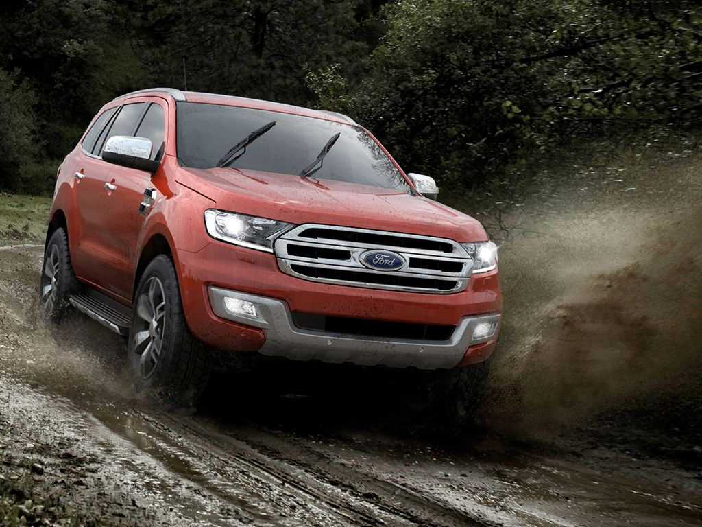 Here's our new Endeavour! Ford Says Its Coming to India Next Year