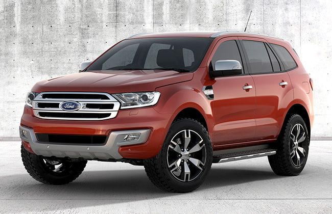 All New Ford Endeavour : Image Gallery