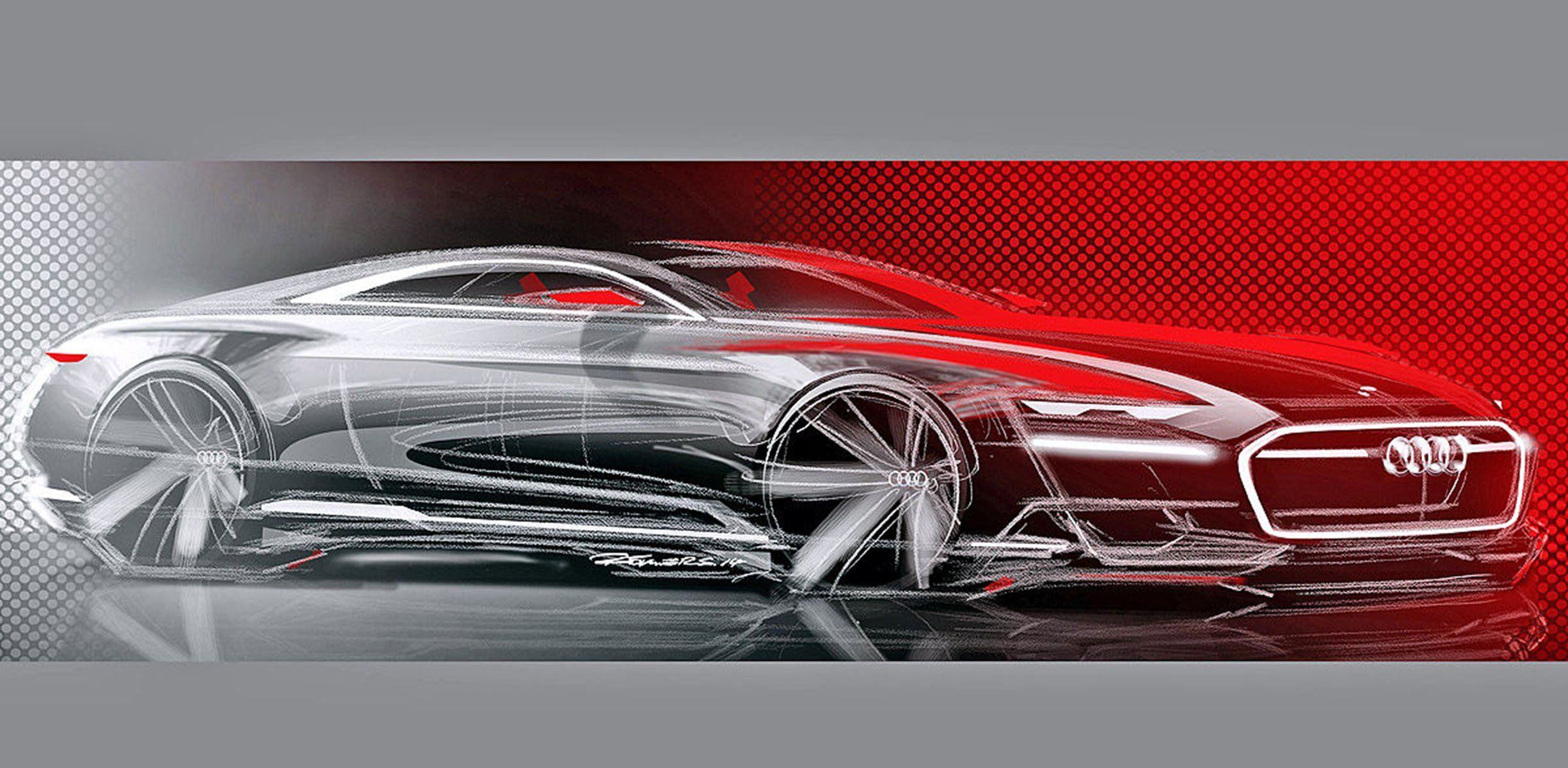 Audi's new 'Prologue' concept teased again