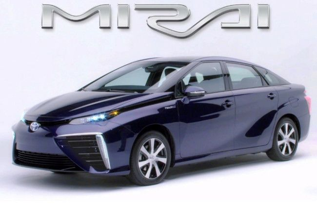 Toyota Mirai hydrogen fuel cell vehicle to be launched tomorrow