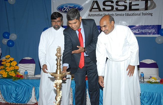 Ford India inaugurates Automotive Student Service Educational Training (ASSET) centre in Bangalore