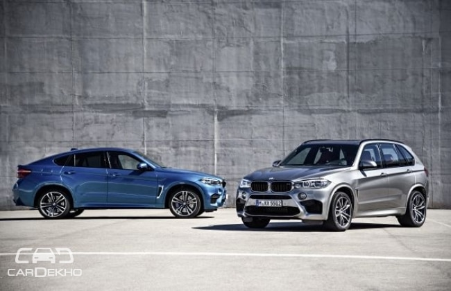 2015 BMW X5 M and X6 M officially revealed