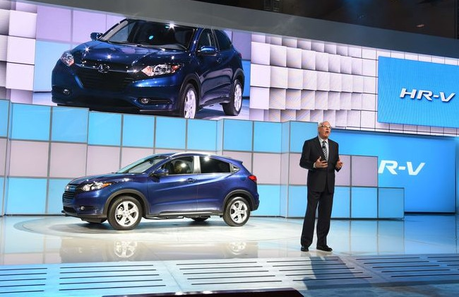 Honda Showcases HR-V at the 2014 LA Motor Show