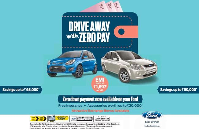 Ford is Offering Zero Down Payment on Figo and Classic!