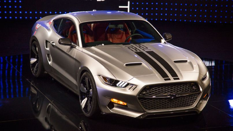 725 HP 2015 Ford Mustang Rocket debuts at LA Auto Show