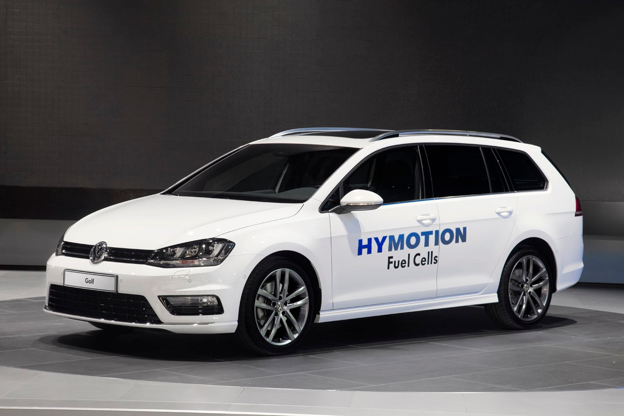 Volkswagen Golf SportWagen HyMotion fuel cell concept revealed