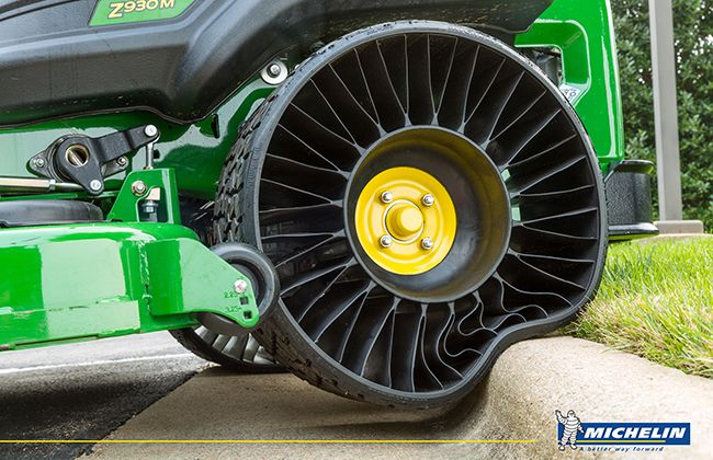 Michelin Opens New Facility for Mass Production of Air-less/Puncture-less Tyre - Tweel