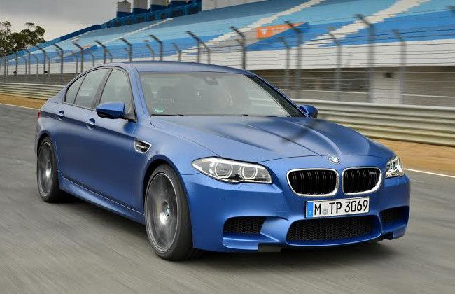 BMW India launches updated M5 at INR 1.35 Crore