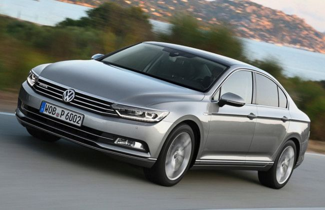 India bound 2015 VW Passat Deliveries Commence in Europe