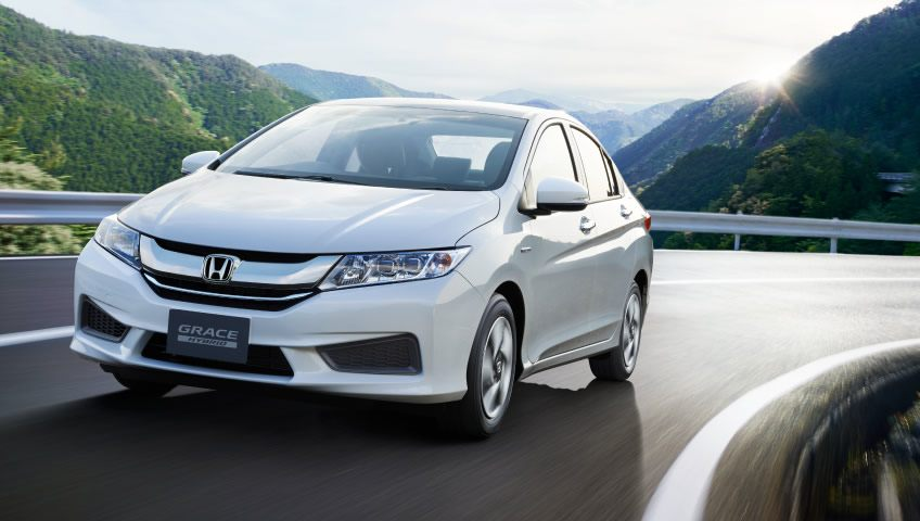 Honda City-based Grace Hybrid launched in Japan; comes with 4WD