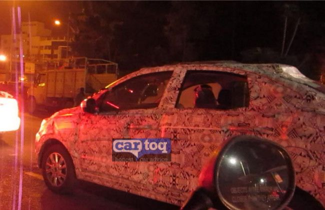 Tata Kite Spied; A replacement for Indigo eCS