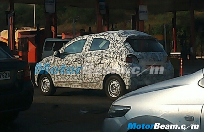 Tata Indica Replacement  Kite Spied During Test Runs