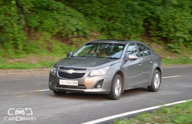 Chevrolet India offering discounts up to INR 85,500