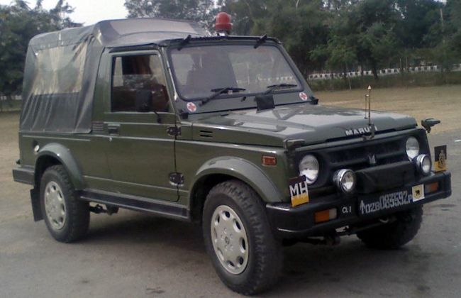 Maruti Suzuki Received Order for 4000 Units of Gypsy for Indian Army