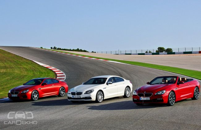 2015 BMW 6 Series Family along with M cousins unveiled