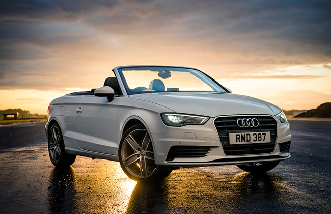 Audi A3 Cabriolet Launched: Picture Gallery