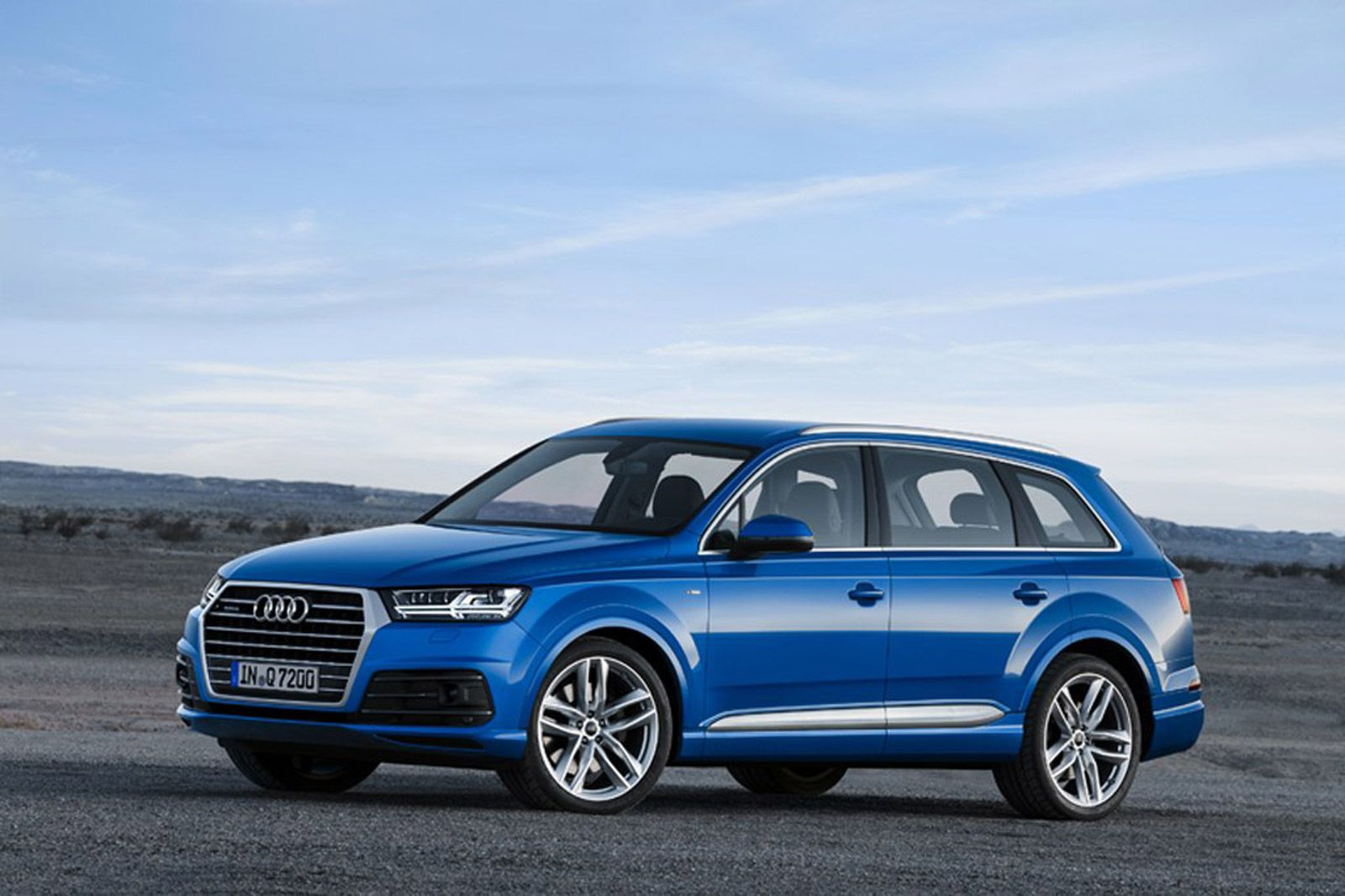 India-bound new Audi Q7 images surface