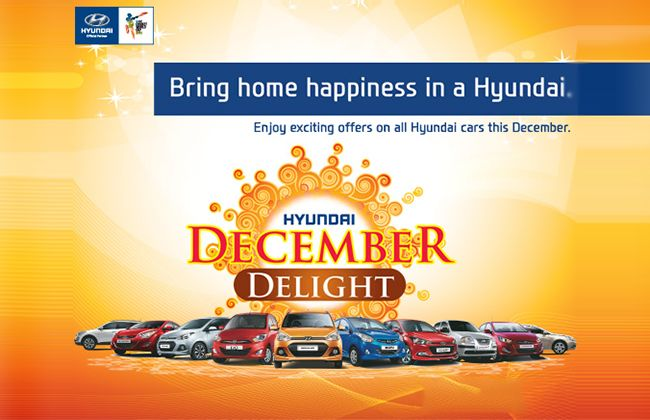 Hyundai India's December Delight Offers