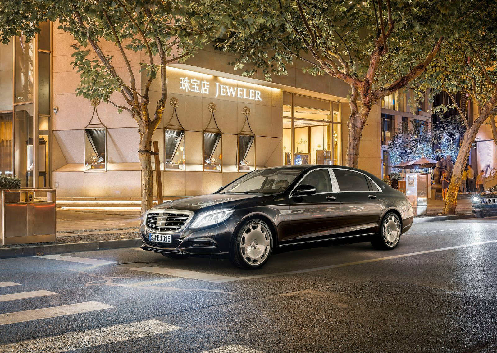 Mercedes-Maybach Releases New Images of S-Class