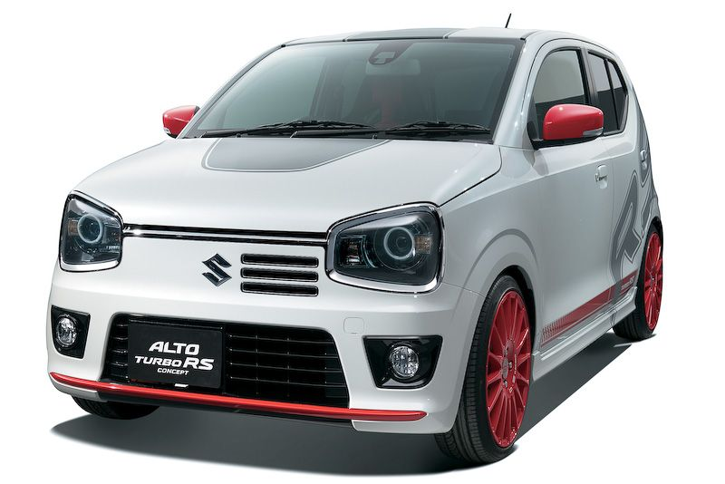 Suzuki adds oomph to Alto with RS Turbo mods