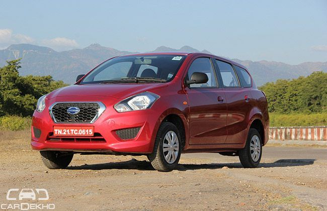 Datsun Go+ bookings open at Rs.11,000
