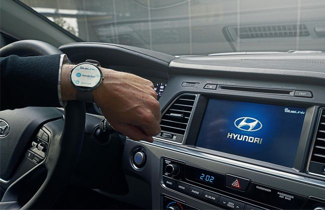 Hyundai Introduces Blue Link 'Smartwatch' App Featuring Voice Recognition!