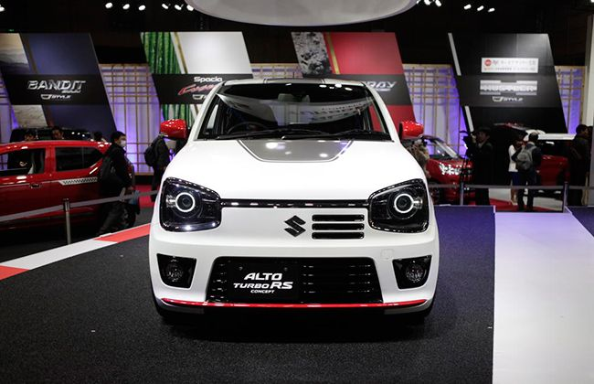 Suzuki showcases Alto Turbo RS at 2015 Tokyo Auto Salon