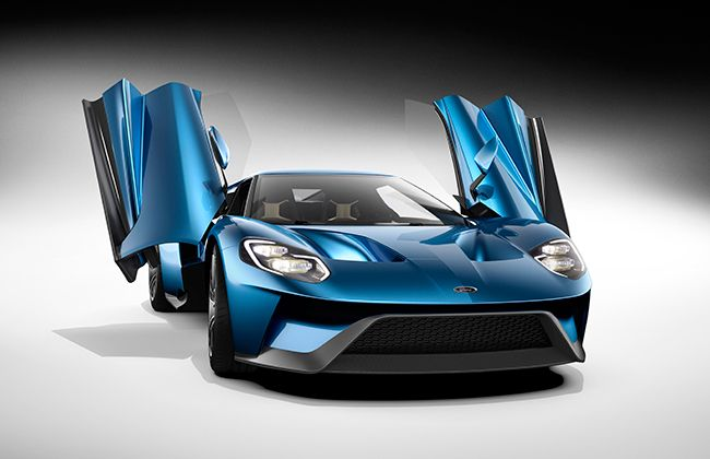 #2015DetroitAutoShow: Meet The New Ford GT - Legend Is Back!